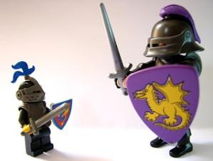 Lego vs Playmobil (http://blogdeloslegos.blogspot.com.es/)