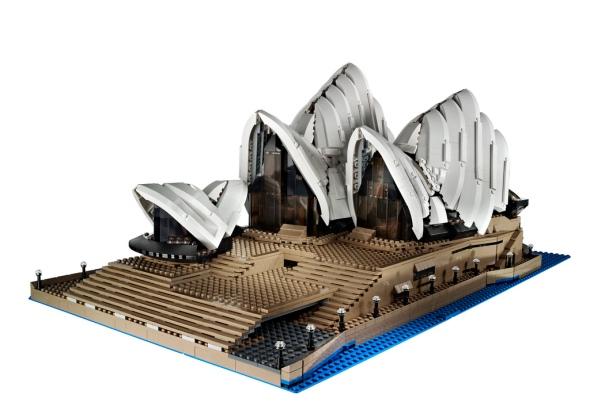 Lego Sydney Opera House ©LEGO